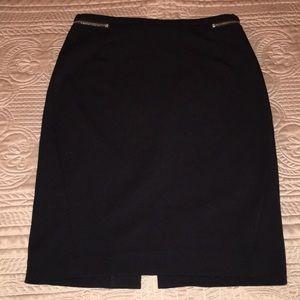 H&M Black Pencil Skirt Size 6